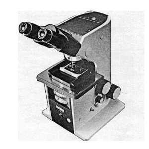 Durchlichtmikroskop KM