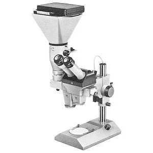 Stereomikroskop DRC mit Zwischentuben für Fotookular D30