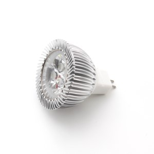 LED Lamp 3x2W, daylight 6000 K, GU5.3