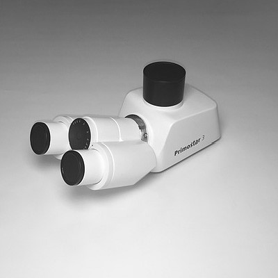 Binocular phototube 25°/20 (50:50) for Primostar 3, reversed image