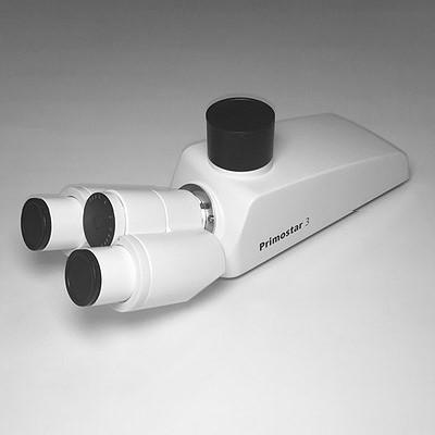 Binocular phototube 25°/22 (50:50) for Primostar 3, reversed image
