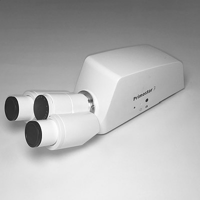 Binocular tube 25°/22 with integrated camera 8MP