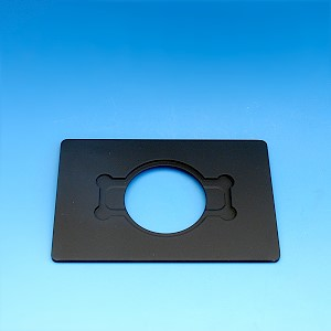Mounting frame for Petri dishes d=54 mm and specimen slides 76x26 mm