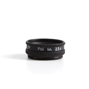 Polarizer for focusing attachment d=6 mm (D)