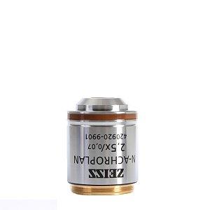 Objective N-Achroplan 2.5x/0.07 M27