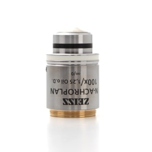 Objective N-Achroplan 100x/1.25 Oil CG=0 M27