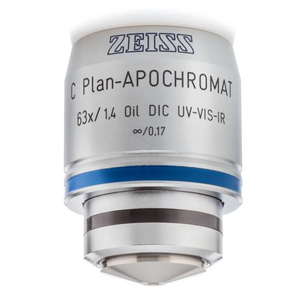 Objective C Plan-Apochromat 63x/1.4 Oil DIC M27