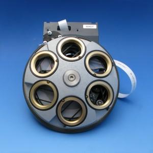 6-position objective nosepiece, H DIC M27 mot. ACR