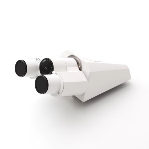 Binocular tube 20°/23, upright image