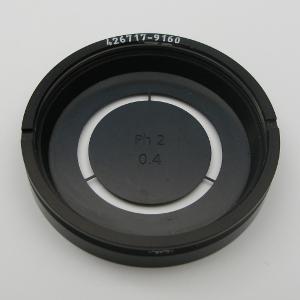 Ringblende Ph 2 0,35/0,4 für Kondensor