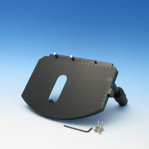 Kreuztisch 75x50 R 120 mm mit Harteloxal-Beschichtung