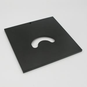Objekttisch 232x230 mm mit Harteloxal-Beschichtung