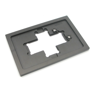 Mounting frame insert Flex M, slides and chambers