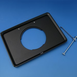 Mounting frame K; low profile, for reflected light, d=72 mm