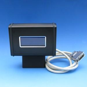 Halter mit LCD-Display und Lichtmanager