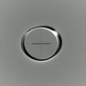 Micrometro a croce 10:100, d=21 mm
