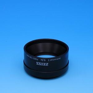 Objectif Achromat S 0,5x FWD 134 mm
