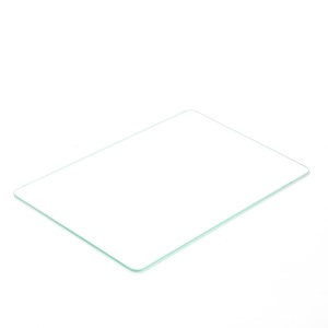 Placa insertable S de vidrio 237x157x3mm (D)