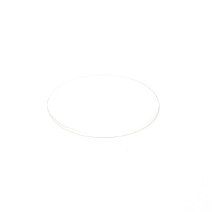 Clear glass plate, D=120 mm