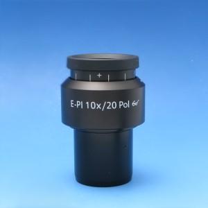 Eyepiece E-PL 10x/20 Br. foc. Pol with crossline graticule