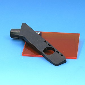 Ecran protecteur pour microscope de fluorescence