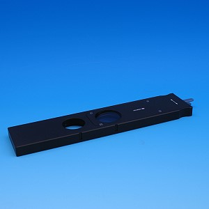 Analyzer slider D/A with lambda-plate, each rotatable +/- 10°