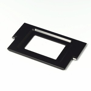 Mounting frame M for microtest plates 60, 72 and 120 positions