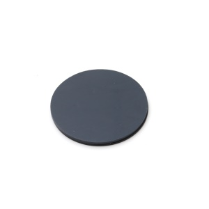 Adherently coated plate, d=84mm