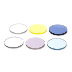 Filter set transm. light with neutral-density and color filters, d=25