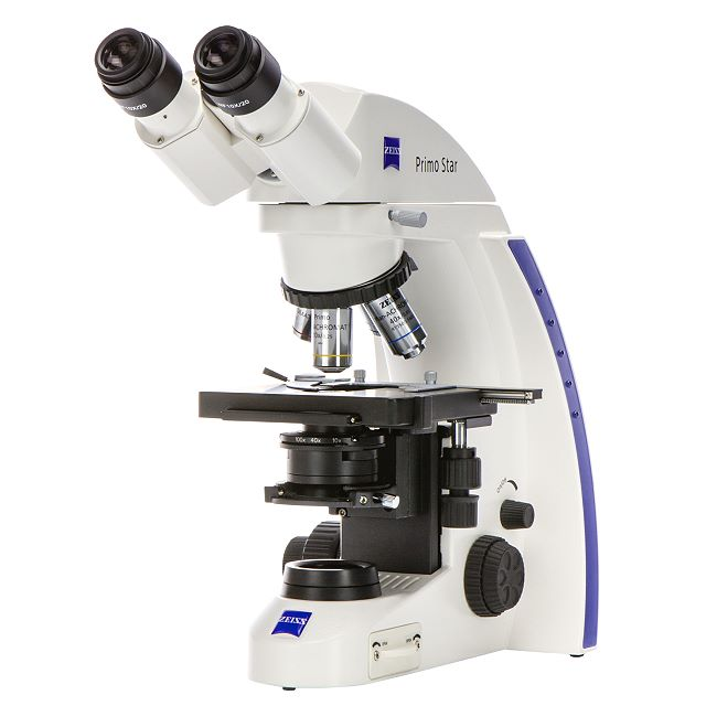 Primo Star LED microscope,fixed-Köhler,stage R,FOV 18,D=0