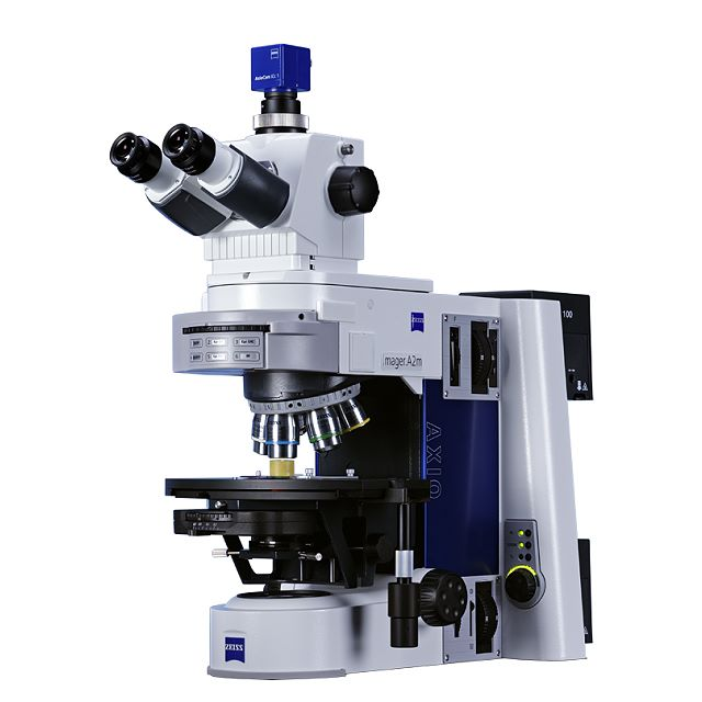 Microscope Axio Imager.A2m for reflected and transmitted light