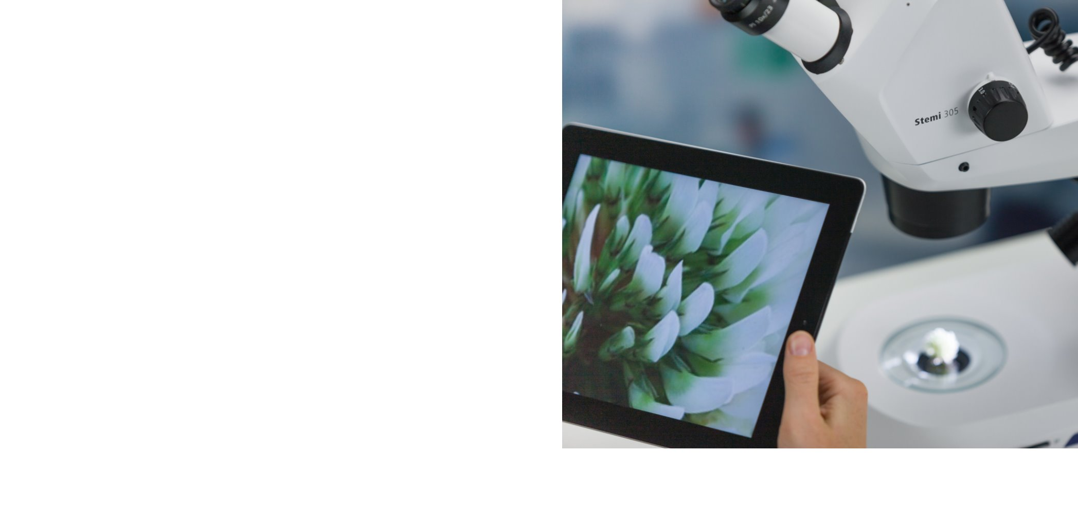 Your stereomicroscope with integrated HD Wi-Fi camera